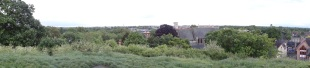 A panorama view of the town (at least I tried!)